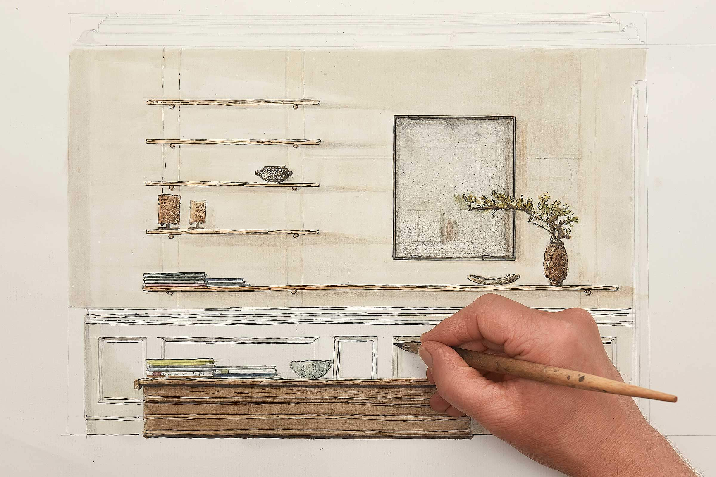 interiør moderne wabi sabi design kunst proces claus lind ©