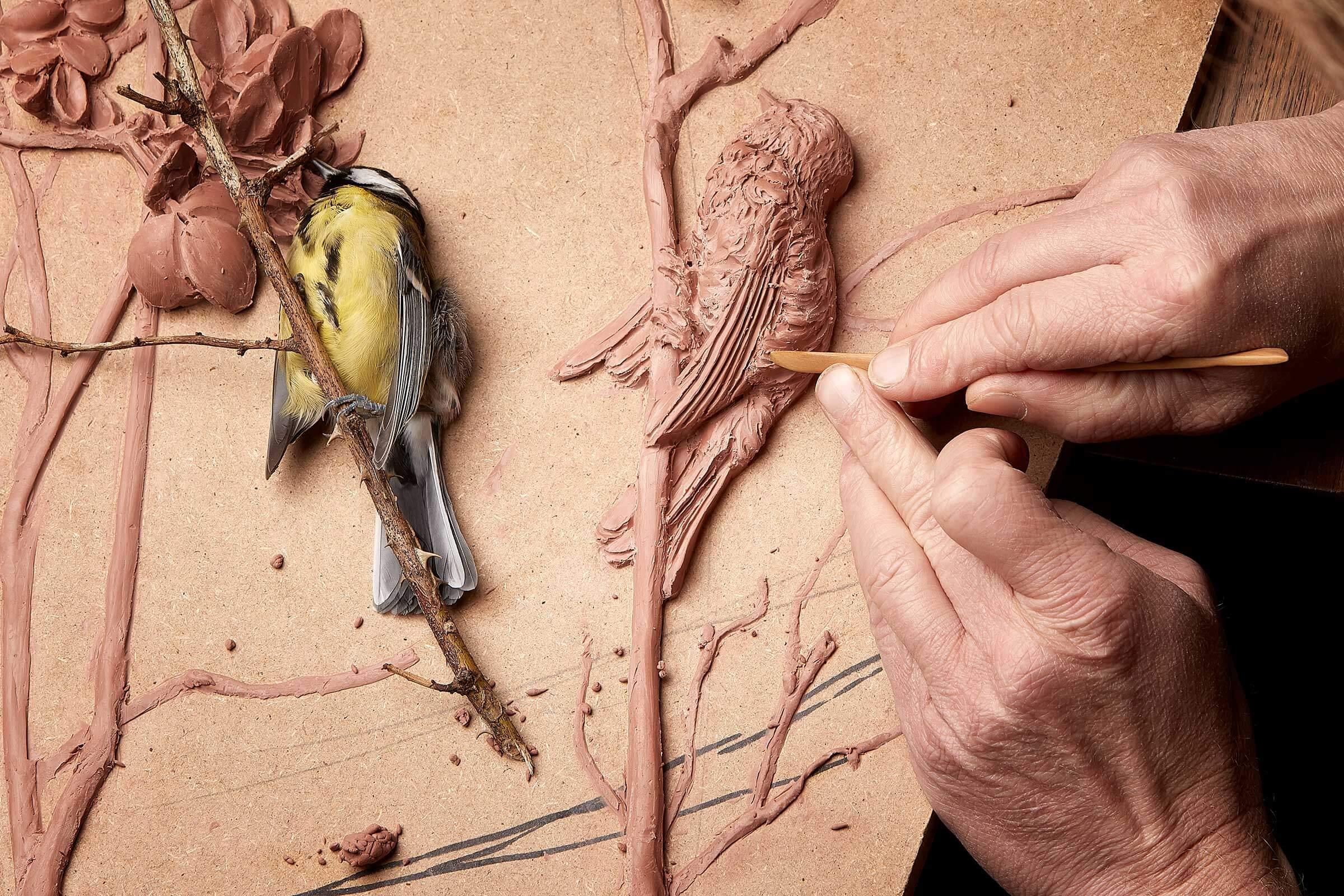 modeling stukloft stukkatør claus lind © håndværk rosetter gips stuk loft